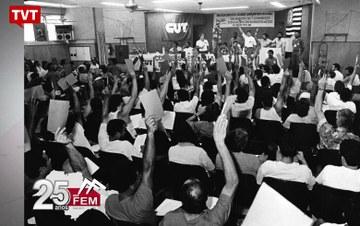 Federação dos Metalúrgicos da CUT em São Paulo completa 25 anos