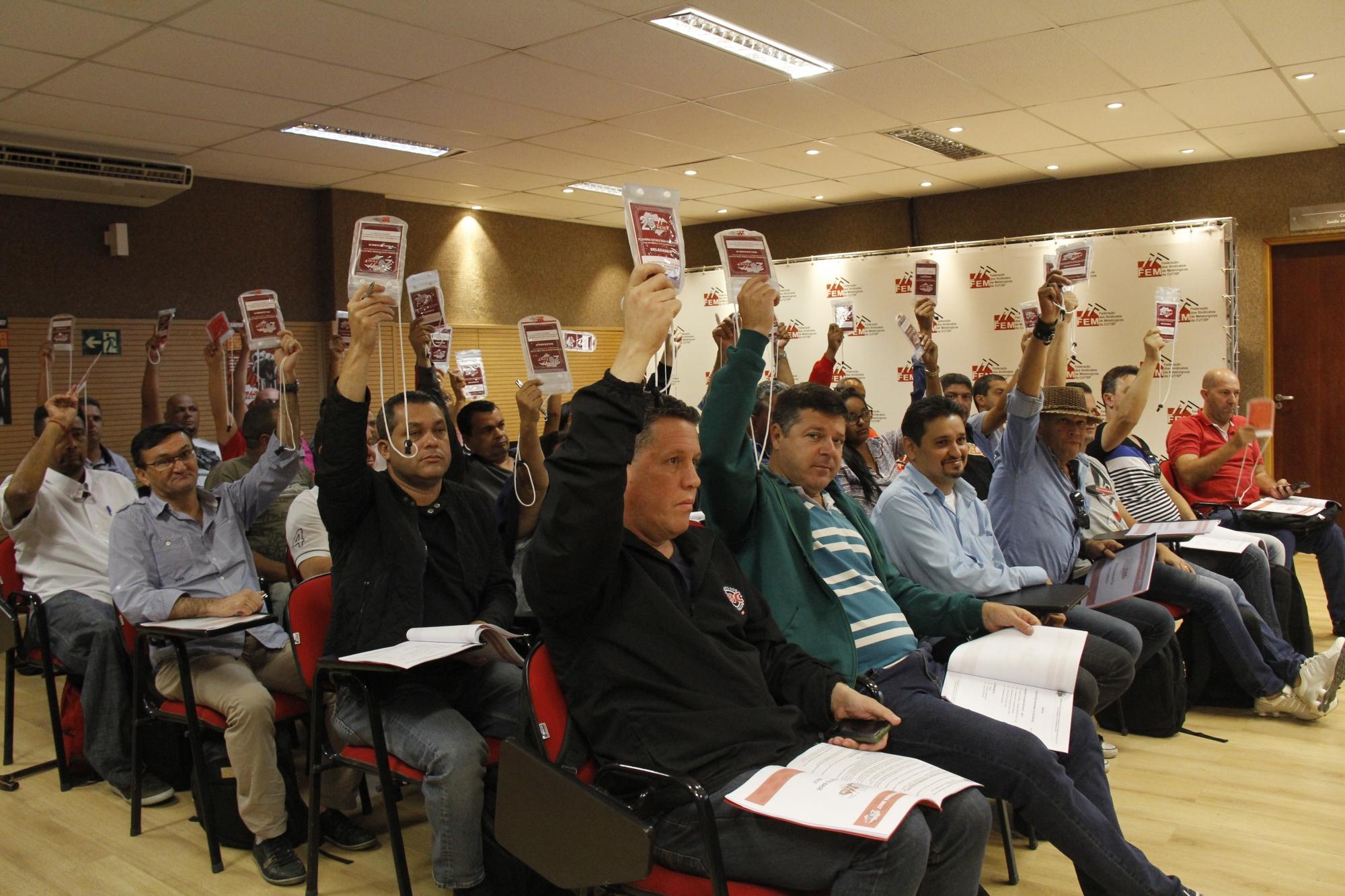 FEM-CUT/SP finaliza Plenária Estatutária com Plano de Lutas para o próximo período