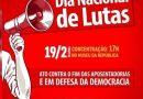 Cresce adesão a greves no dia 19 contra a reforma da Previdência