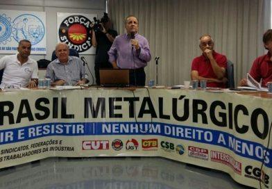 Metalúrgicos discutem resistência à reforma trabalhista