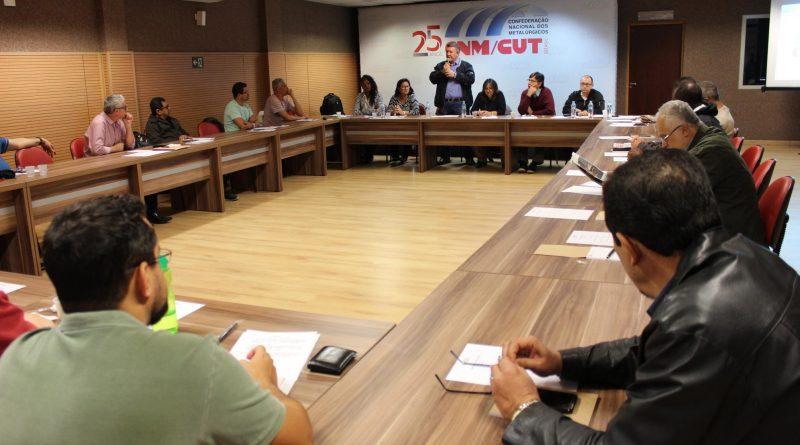 Direção da CNM/CUT define estratégias de organização para o Dia do Basta
