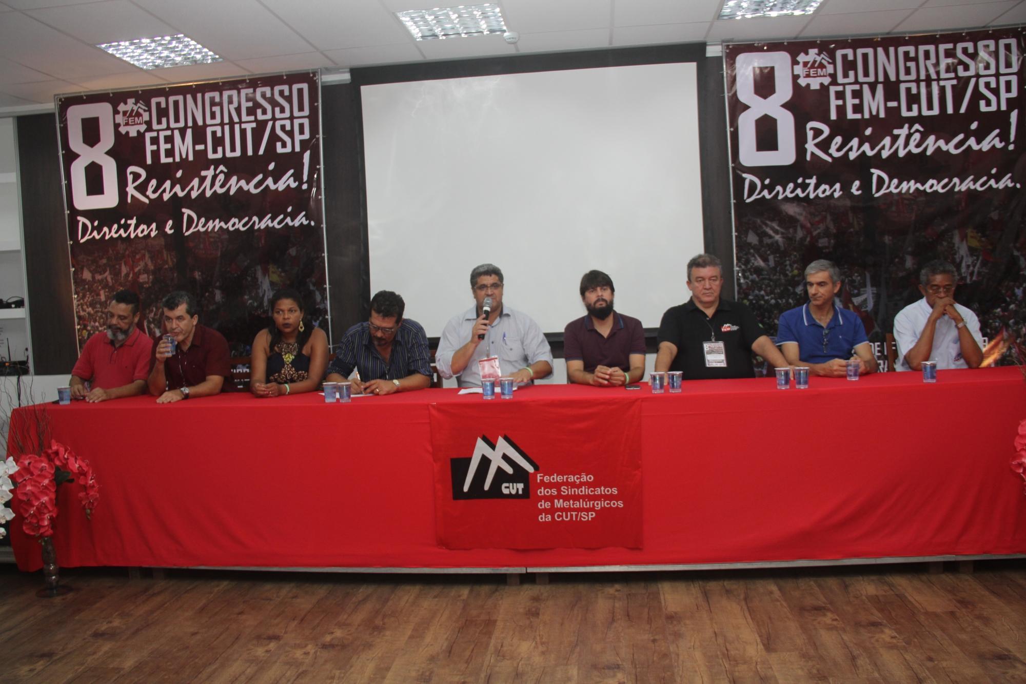 """8º Congresso da FEM-CUT/SP: """"Quem sempre esteve ao lado do trabalhador foi o Sindicato"""""""