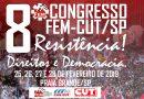 FEM-CUT/SP vai realizar 8º Congresso este mês