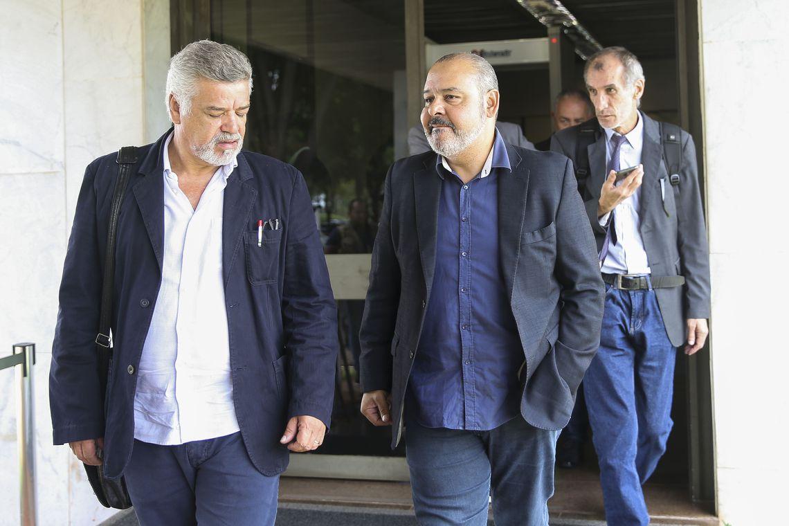 CUT se reúne com Mourão e defende direitos dos trabalhadores