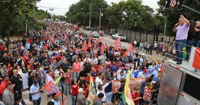 Trabalhadores fazem atos contra a reforma da Previdência em todo o país