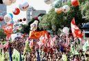 Com 200 mil em SP, centrais defendem greve geral em 14 de junho e retirada de projeto