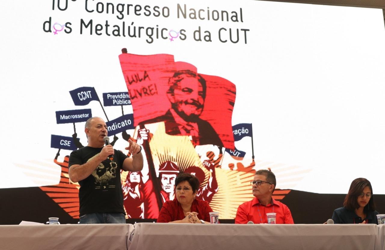 Organização sindical é foco no 10º Congresso da CNM/CUT
