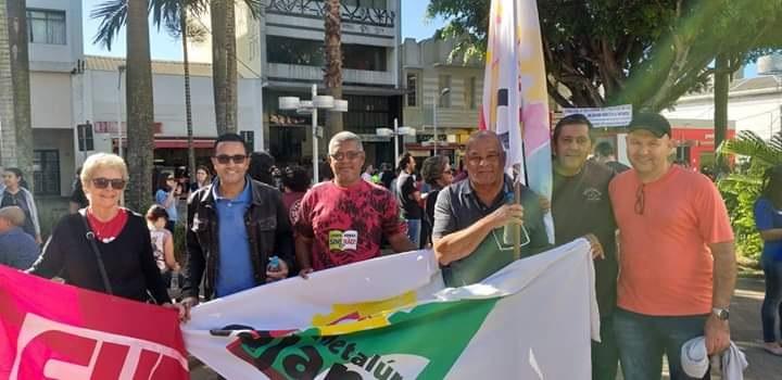 """Sindicato participa de atos contra a """"reforma"""" da Previdência em Jundiaí"""
