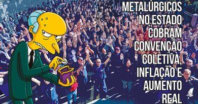 Metalúrgicos no Estado cobram Convenção Coletiva, inflação e aumento real