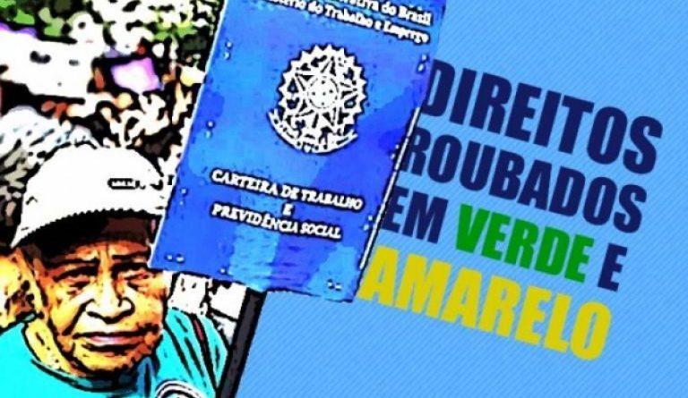 MP Verde e Amarela quer ampliar número de trabalhadores sem direitos