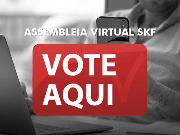 ASSEMBLEIA VIRTUAL DOS TRABALHADORES MENSALISTAS DA SKF DO BRASIL.