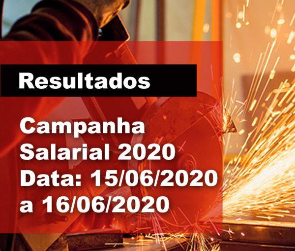 RESULTADOS: Campanha Salarial 2020