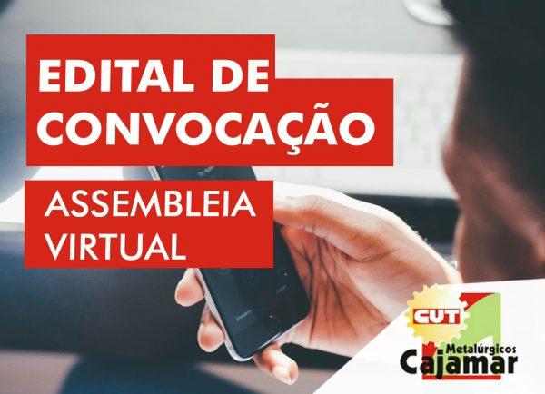 EDITAL DE CONVOCAÇÃO | ASSEMBLÉIA GERAL DOS TRABALHADORES DAS EMPRESAS ENGEREUS DO BRASIL E HI LURES DO BRASIL.