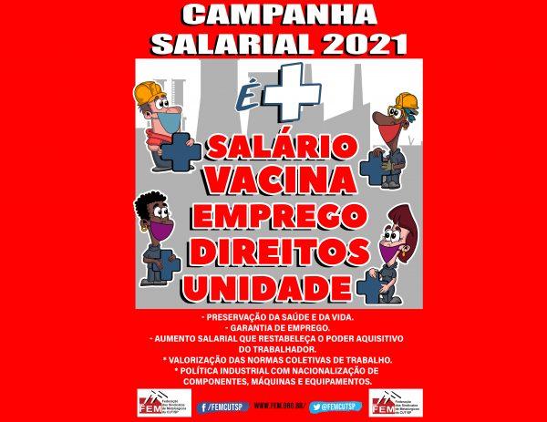 Campanha Salarial 2021