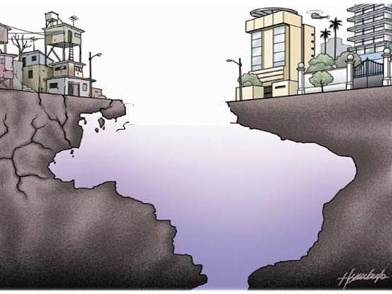 Brasil está entre 10 países mais desiguais do mundo