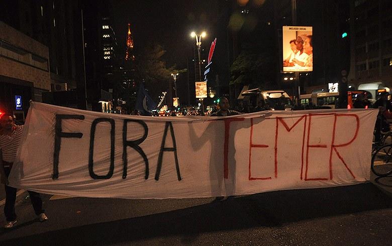 Movimentos sociais convocam manifestações por diretas já a partir desta quinta