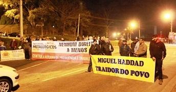 Cidades têm protestos contra reformas do governo Temer