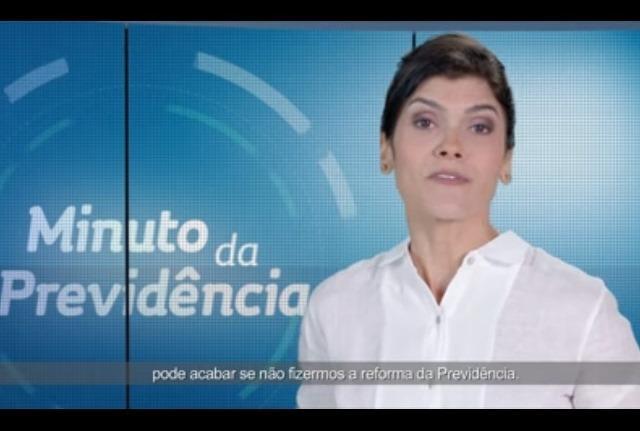 Justiça manda suspender propaganda sobre reforma da Previdência