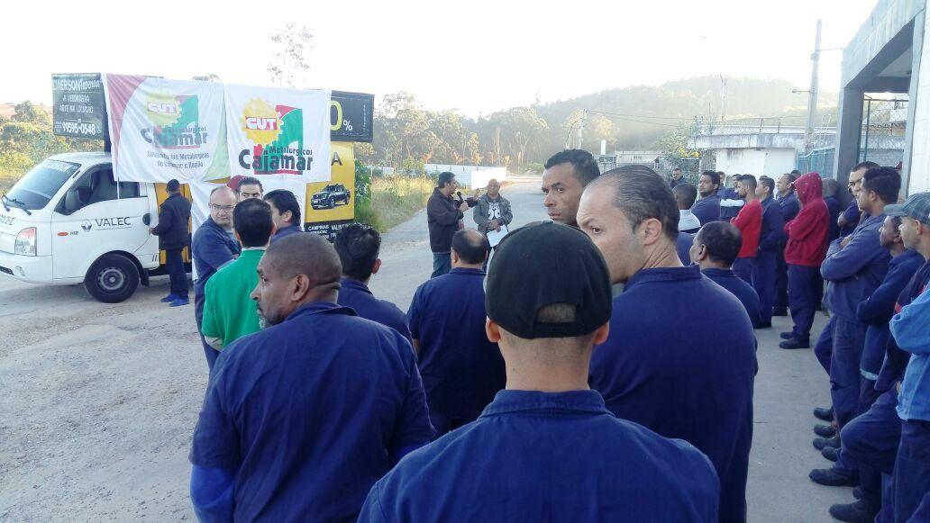 Trabalhadores rejeitam PLR na Cimapi