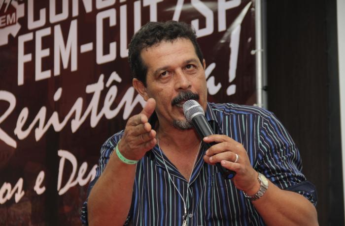 8º Congresso: Luizão é reeleito presidente da FEM-CUT/SP